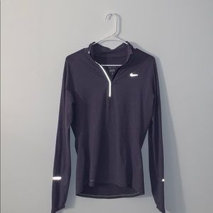 Lavender workout quarter zip
